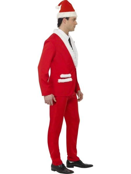 47136e3a4 Originální verze již tradičního kostýmu Santa Clause. Hoďte se pěkně do  gala na Vaši vánoční párty!